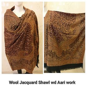 Pashmina with Embroidery Shawls And Stoles