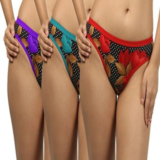 Panties - Pack of Three-DIMOND