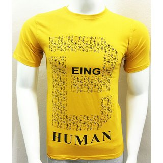 Being Human Men's Round Neck Tshirts with short sleeves