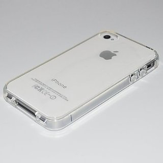 I PHONE 4S TRANSPARENT SILICON CASE