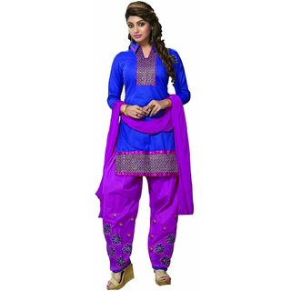 purvi fasions women's designer dress material (Unstitched)