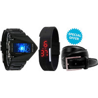 Jack Klein Combo Of 2 Different Digital Led Band And Bl
