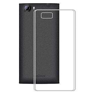Lenovo A7700 Back Cover Premium Quality Soft Transparent Silicon TPU Back Cover