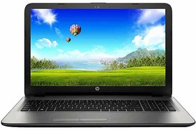 HP 15-AY019TU Notebook (W6T33PA) (5th Gen Intel Core i3- 4GB RAM- 1TB HDD- 39.62 cm (15.6)- DOS) (Silver)