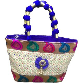 IndoArtisan hand-held Bag-11