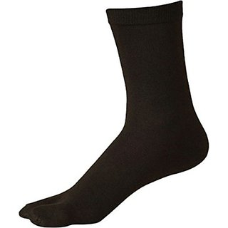 Women's Latest comfortable Pair of Solid Black Socks...
