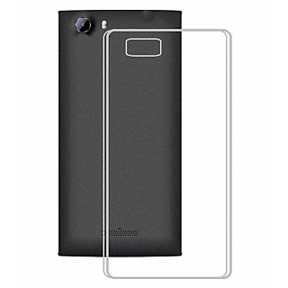 Reliance Jio LYF Wind 6 Back Cover Premium Quality Soft Transparent Silicon TPU Back Cover