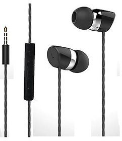 Bullet Shot head series - Universal supported 3.5mm Head phone with MIC  For Music  calls excellent clarity Compatible for Android Mobiles/ Tablets, Iphone / Ipads, Laptops, Computers, MP3 Players  Gaming Consoles Etc