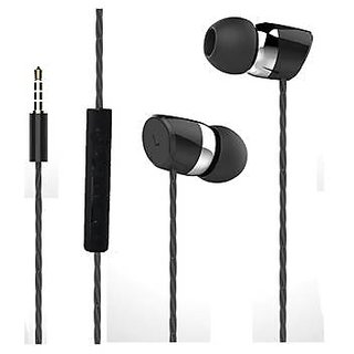 Bullet Shot head series - Universal supported 3.5mm Head phone with MIC For Music calls excellent clarity Compatible for Android Mobiles/ Tablets Iphone / Ipads Laptops Computers MP3 Players Gaming Consoles Etc
