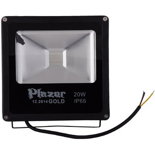 Great LED Outdoor Flood Light With Remote Controller 20W RGB Colour IP65 (RED,  GREEN,
