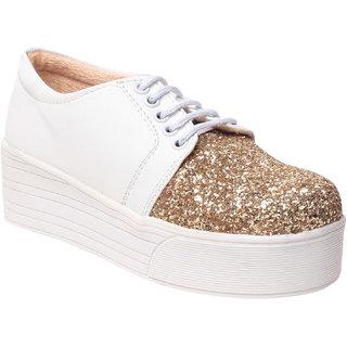 MSC women's Gold Sneakers