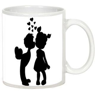 AllUPrints Uncountable Love White Coffee Mug - 11 oz