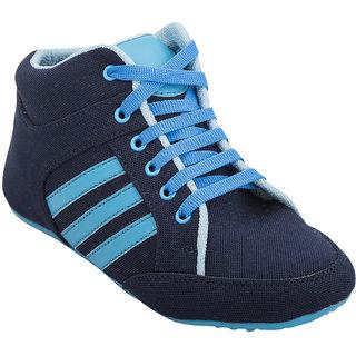 Hansx Women's Blue & Black Smart Casuals Shoes