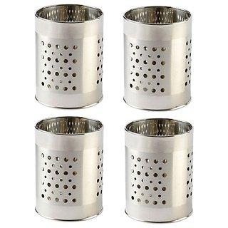 Stainless Steel Multipurpose Cutlery Holder Set Of 4 Pcs