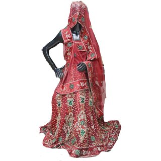 Starword fashion women best beautiful red cotton lahengha