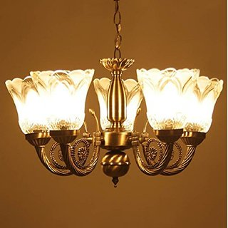 Prop It Up Antique Design Brass Chandelier - 5 Lamps ..