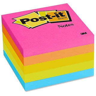 3M Post-it Color Notes (6 assorted colors) - Pack of 6