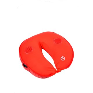 Travel Pillow with Massager and MP3 Speaker
