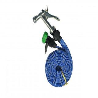 Kudos Water Spray Gun 10 Meter For Pet Washing Car Washing Jet Assorted Color ( pack of 1)