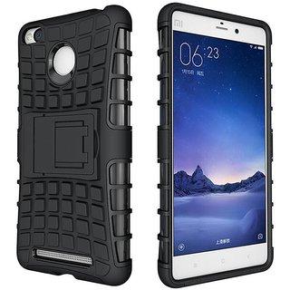 Redmi 3S Case Shockproof Rugged Rubber Cover Hard Case For Redmi 3S Redmi 3 Pro Cover Capa Stand Clip Case
