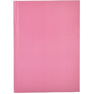 Plain Pink Handmade Hardbound Register