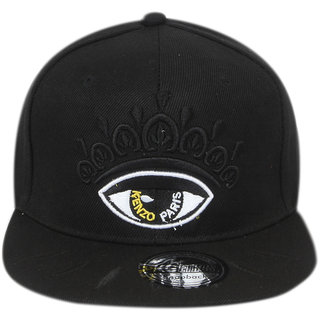 2a6837da009 Buy ILU Black Caps for Man Boys Women Girls Men Woman Snapback Cap Hiphop Cap  Baseball Cap Online - Get 72% Off