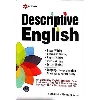 Descriptive English Paperback  1 Jan 2016