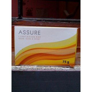 Assure Complexion Bar - Kesar, Olive  Honey Soap