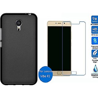 finest selection d252b dd32d Lenovo P2 back cover with tempered glass