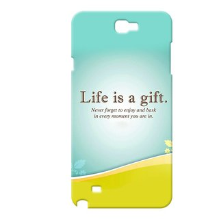 Cases  Cover, Designer Printed Back Cover For Samsung Galaxy Note 2 : By Kyra