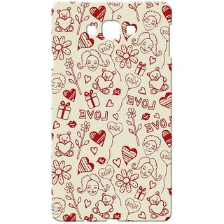 Case  Cover, Designer Printed  Back Cover For Samsung Galaxy A8 : By Kyra