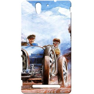 Case  Cover, Designer Printed  Back Cover For Sony Xperia C3 : By Kyra