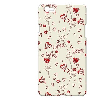 Cases  Cover, Designer Printed Back Cover For Oppo F1s : By Kyra