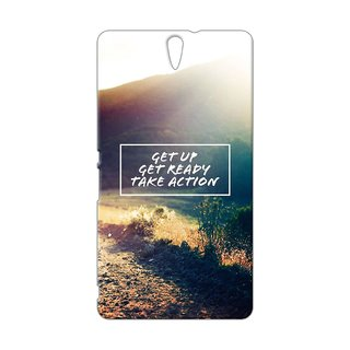Cases  Cover, Designer Printed Back Cover For Sony Xperia C5 : By Kyra