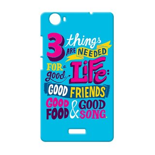Designer High Quality Printed Back Cover For Micromax Canvas Nitro E311 : By Kyra