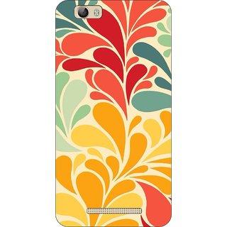 Go Hooked Designer Soft Back Cover For LAVA A97 + Free Mobile Stand (Assorted Design)