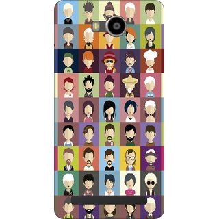 Go Hooked Designer Soft Back Cover For Lenovo A7700 + Free Mobile Stand (Assorted Design)