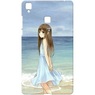 Case  Cover, Designer Printed  Back Cover For Vivo V3 : By Kyra