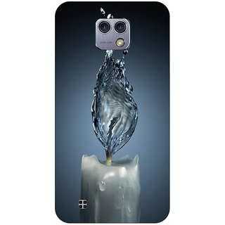 Go Hooked Designer Soft Back Cover For LG X-CAM + Free Mobile Stand (Assorted Design)