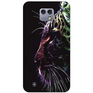 Go Hooked Designer Soft Back Cover For LG X-CAM + Free Mobile Stand (Assorted Design)