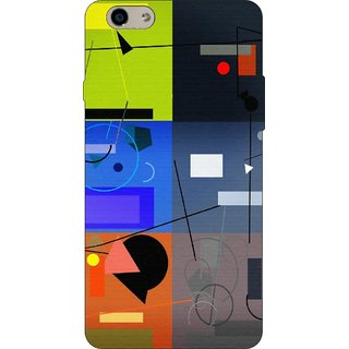 Go Hooked Designer Soft Back Cover For OPPO F1 S + Free Mobile Stand (Assorted Design)