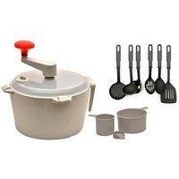 Combo Of Dough Maker & Atta Maker Mixer 1 Pcs With Kitchen Tool Set Of 6 Pcs.