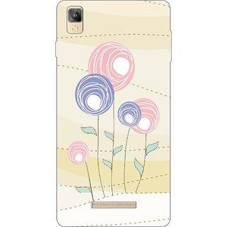 Go Hooked Designer Soft Back Cover For Panasonic Eluga A2