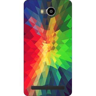 Go Hooked Designer Soft Back Cover For Lenovo A7700 + Free Mobile Stand (Assorted Design)