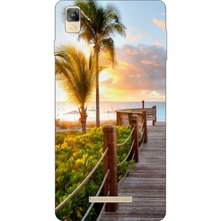 Go Hooked Designer Soft Back Cover For Panasonic Eluga A2