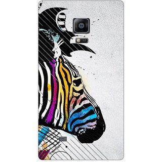 Go Hooked Designer Soft Back Cover For Samsung Galaxy Note Edge + Free Mobile Stand (Assorted Design)