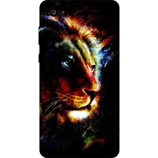 Go Hooked Designer Soft Back Cover For LYF Flame 4 + Free Mobile Stand (Assorted Design)