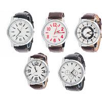 Jack Klein Round Dial Elegant Analogue Wrist Watches Fo