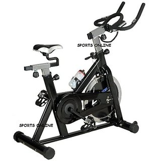 Lifeline Stainless Steel Exercise Fitness Spin Bike Cycle 20 Kg Home Gym