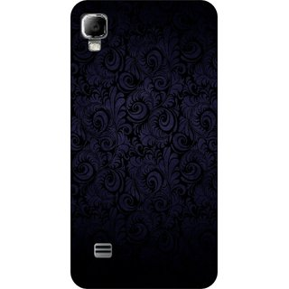 Go Hooked Designer Soft Back Cover For LYF Flame 3 + Free Mobile Stand (Assorted Design)